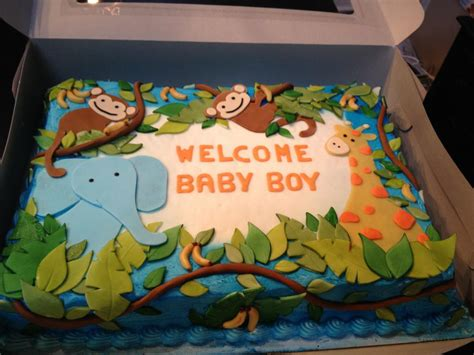 Safari Cakes Baby Shower by Crispy S Cakes Safari Baby Shower Cake