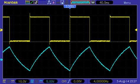 capacitor output waveform tutorials op relaxation oscillator cool cap engineer