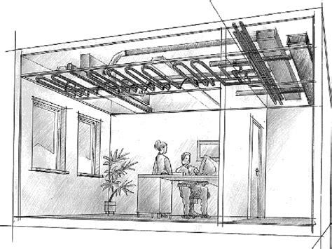impianto radiante a soffitto schema impianto riscaldamento pannelli radianti fare di