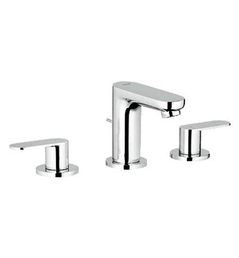 grohe widespread bathroom faucet grohe 20199000 eurosmart cosmopolitan widespread bathroom