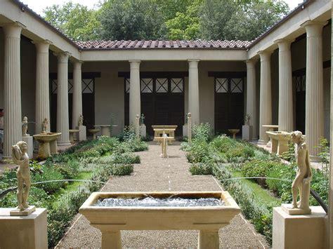 casa dei file ricostruzione giardino della casa dei vetii di