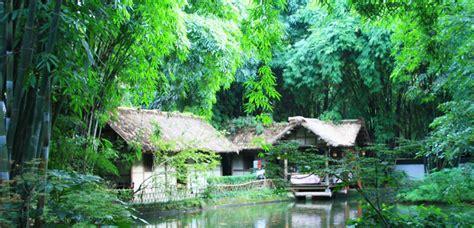 Du Fu Thatched Cottage by Chengdu Du Fu Thatched Cottage Dufu Caotang