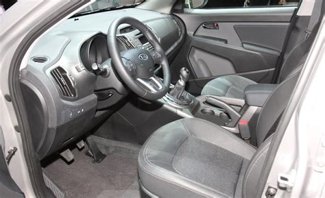 kia sportage interior car and driver