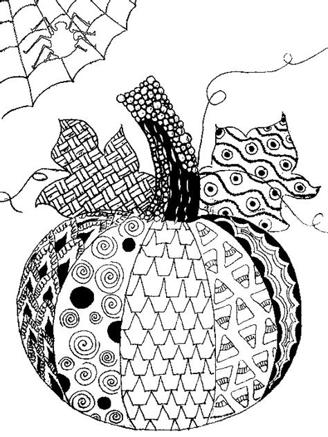 pumpkin coloring pages for adults adult coloring page halloween pumpkin halloween 5