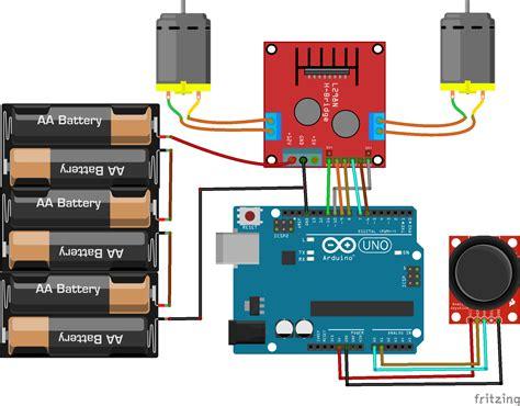 tutorial arduino joystick controlling dc motors with arduino arduino l298n tutorial