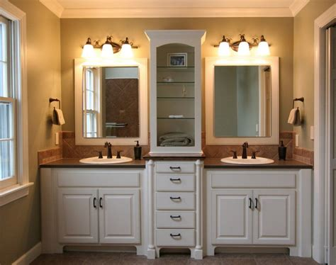 Bathroom Vanity Plans Brown Wooden Vanity Cabinet