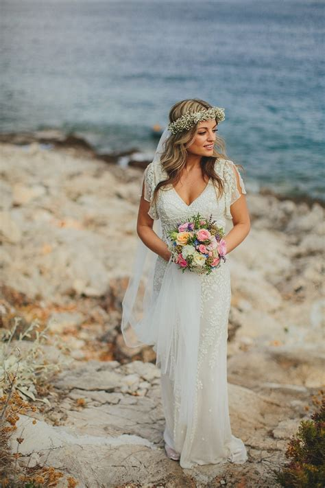 Island Wedding Dresses by A Glamorous Eliza Howell For A
