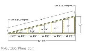loafing shed plans myoutdoorplans free woodworking
