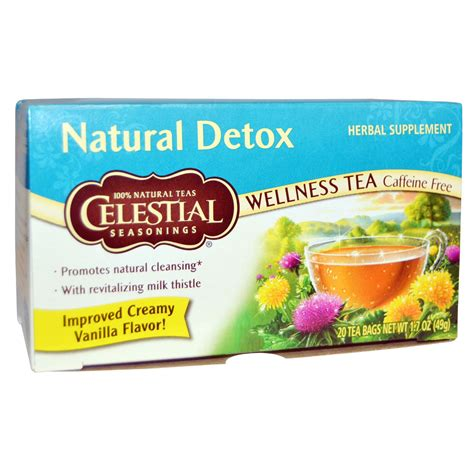 How To Detox Caffeine Fast by Celestial Seasonings Detox Wellness Tea