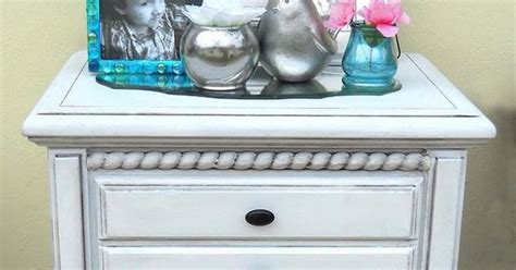 refinish the white side table black coffee paint finishes and chalk paint
