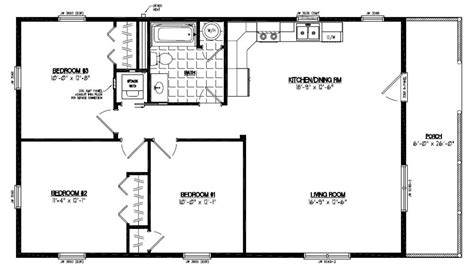 Certified Homes Settler Certified Home Floor Plans 26 X 48 House Plans