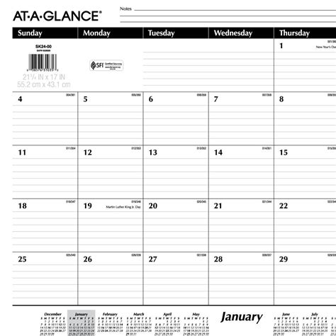 printable calendar year at a glance 2015 9 best images of december 2015 printable week at a glance