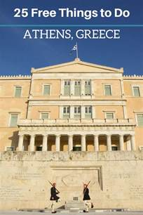 Things To Do In Athens by 25 Free Things To Do In Athens Travel Greece Travel Europe