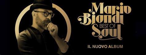 mario biondi the best mario biondi il nuovo album quot best of soul quot radio