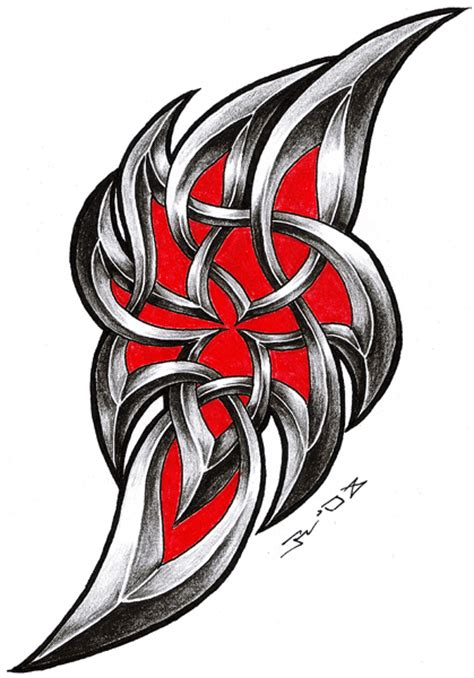 Tribal Celtic By Roblfc1892 On Deviantart Celtic Tribal Designs