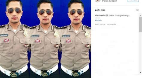 Model Rambut Irfan Hakim by Irfan Hakim Menjelma Jadi Polisi Ganteng Showbiz