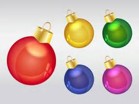 christmas ornaments vector art graphics freevector com
