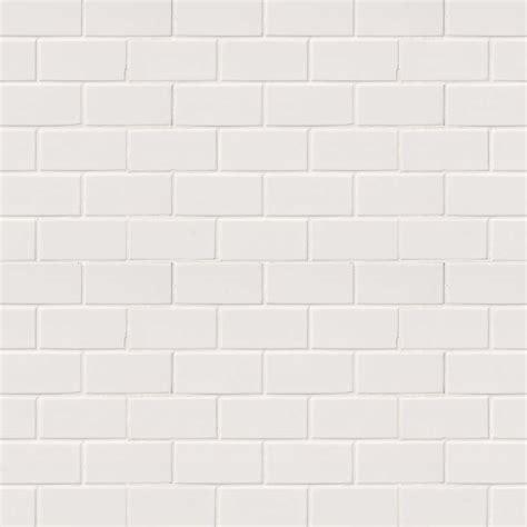 subway tile domino white glossy subway tile 2x4