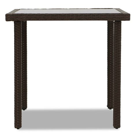brown dining table decor akala outdoor dining table brown furniture home d 233 cor