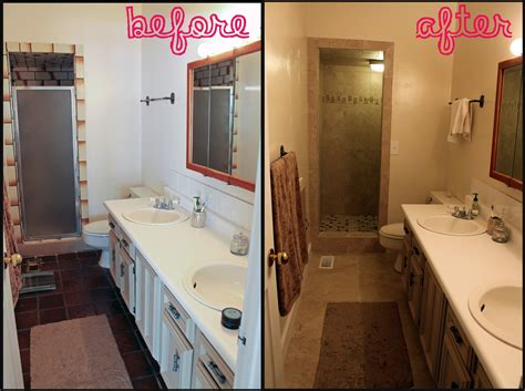 before and after bathroom remodel bathroom remodel modern magazin