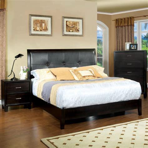 furniture  america muscett  piece queen bedroom set  espresso idf  pc