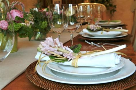 dinner party table setting spring dinner party table setting dinner party table