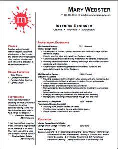 kitchen design cv interior design resume google search pinteres