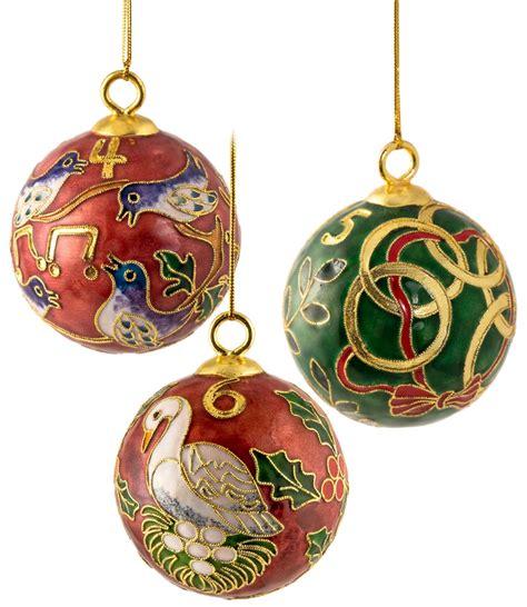 twelve days of christmas ball ornament 12 days of