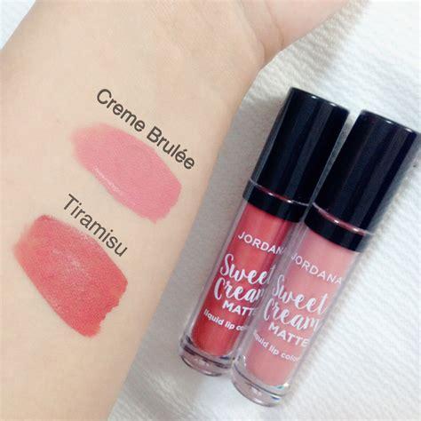 Jordana Creme Brulee Sweet Matte Liquid Lip Color Ori Usa Ek5c review jordana sweet matte liquid lipstick beautybyannasoleil