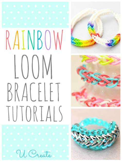 Rainbow Loom Bracelet Tutorials U Create