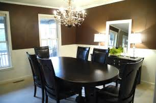 Painting Dining Room With Chair Rail Dining Room Improvements Plus Molding Tutorial Beneath My