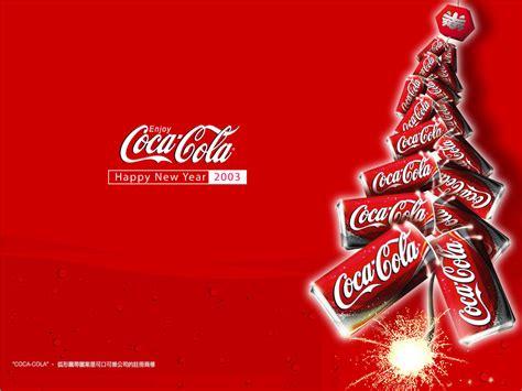 hotlink new year advertisement 可口可乐广告壁纸 二