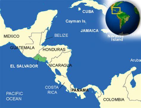 america map el salvador el salvador facts culture recipes language government