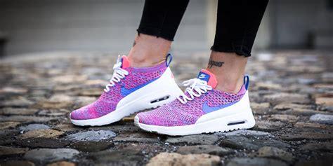 Nike Air Max Thea Cwok cheap nike air max thea ultra flyknit white pink blue