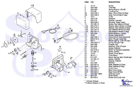 water softener parts diagram softenerparts