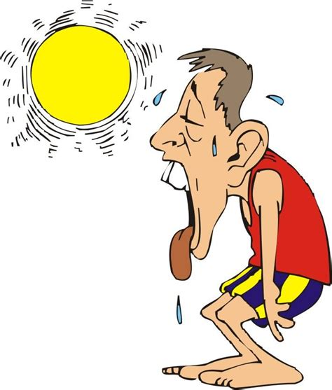 funny it s hot images heat clipart hot weather pencil and in color heat