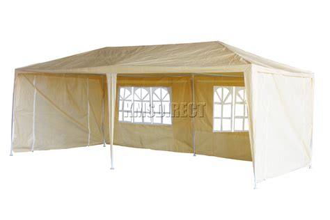 new waterproof 3m x 6m pe outdoor garden gazebo tent
