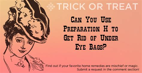 what can you use to get rid of bed bugs can you use preparation h to get rid of under eye bags