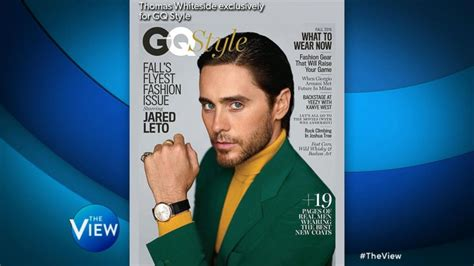 famous actors jared jared leto says there are fewer opportunities for gay