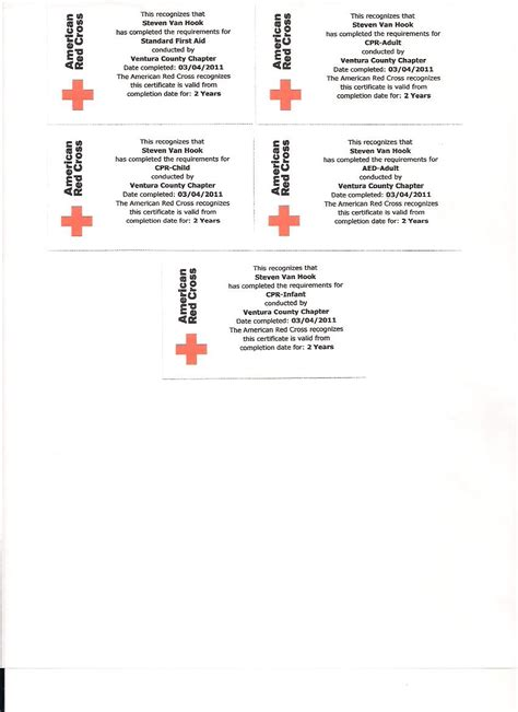 american cross card template cross cpr certification card template