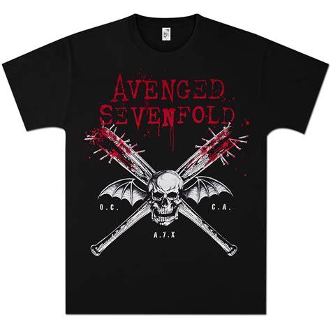 T Shirt Avenged Sevenfold Black avenged sevenfold bats on black t shirt musictoday