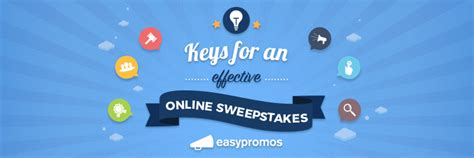Online Sweepstakes Laws - 6 keys for an effective online sweepstakes