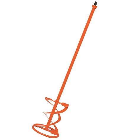 home depot paint mixer qep 16 in universal thinset and grout mixer mixing paddle