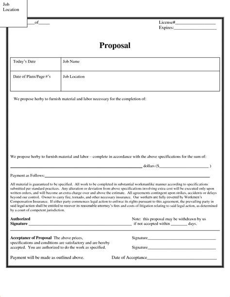sle rfp template construction bid template sop format 28 images sle