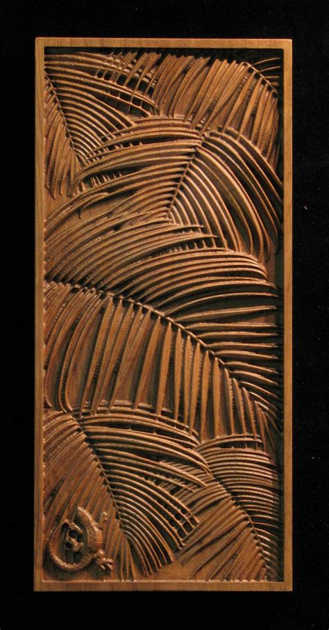 Carved Cabinet Doors Wood Carved Cabinet Door Tropical Carved Tropical And Nature Pinterest Tropical Palms