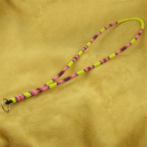 how to make a beaded lanyard pink beaded lanyard