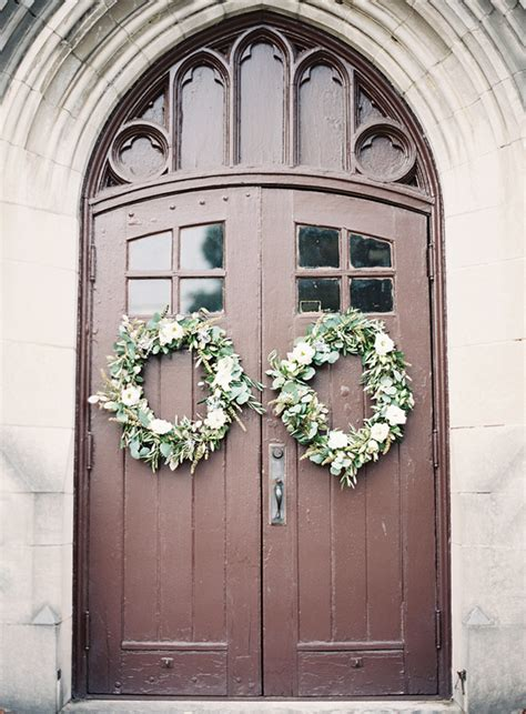 wedding wreaths for front door diy wedding ceremonies wreath once wed