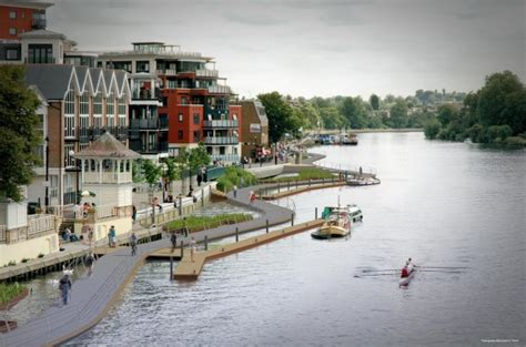 thames river flow rate london will soon have a floating cycle path over river thames