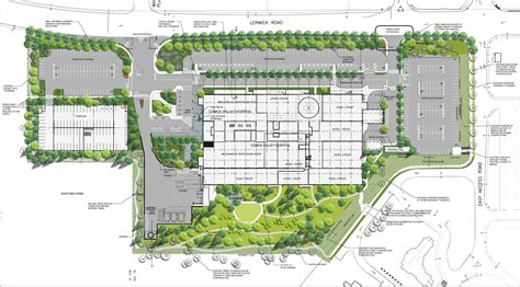 Florr Plans by Comox Valley Hospital Siteplan 171 North Island Hospital Project