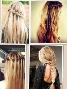 easiest type of diy hair braiding 4 cute and easy braided hairstyles hairstyles hair